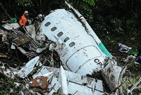 Experts probe Colombia plane crash that wiped out Brazilian football team