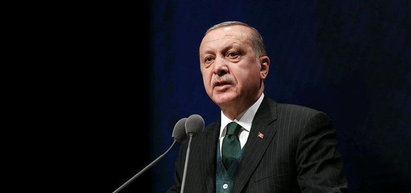 TURKEY ACTIVELY COMBATTING TERROR GROUPS, ERDOĞAN SAYS
