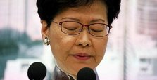 China refuses to allow Hong Kong leader to resign