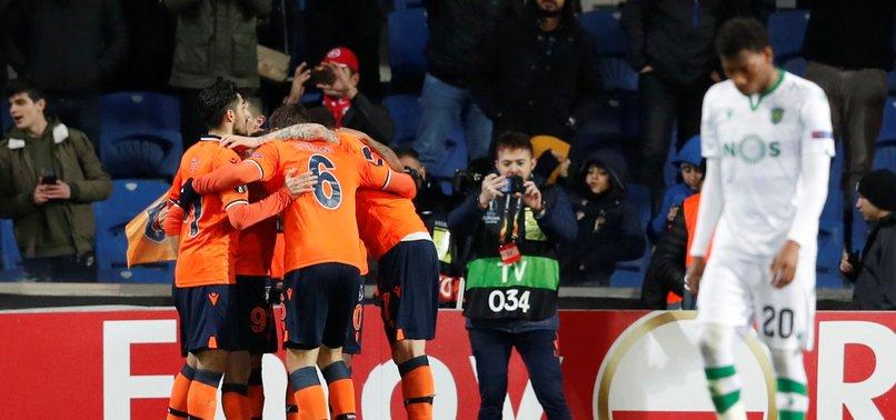BAŞAKŞEHIR ADVANCE TO LAST 16 IN UEFA EUROPA LEAGUE AFTER BEATING SPORTING LISBON