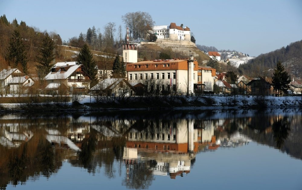 Slovenian town of Sevnica where Melania Trump was born. The new first lady of  the U.S. became a permanent resident in 2001 and a citizen in 2006. She was a Milan-based model before marry American president of the U.S Donald Trump in 1998.