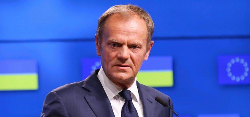 EUS TUSK FLOATS BREXIT U-TURN AFTER SHOCK UK RESIGNATIONS