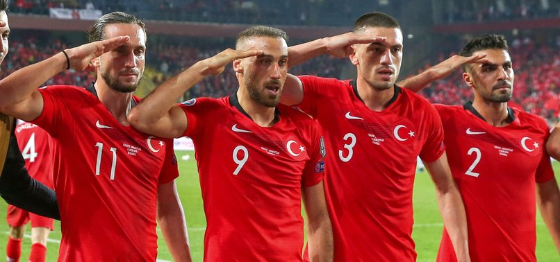 ERDOĞAN CALLS UEFA PROBE INTO SOLDIER SALUTES BY TURKISH PLAYERS DISCRIMINATION