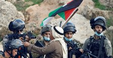 Many injured as Israel breaks up Palestinian protest