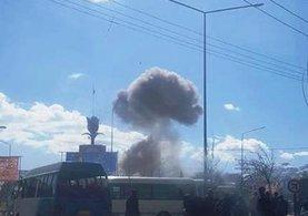 Kabil iki büyük patlamayla sarsıldı