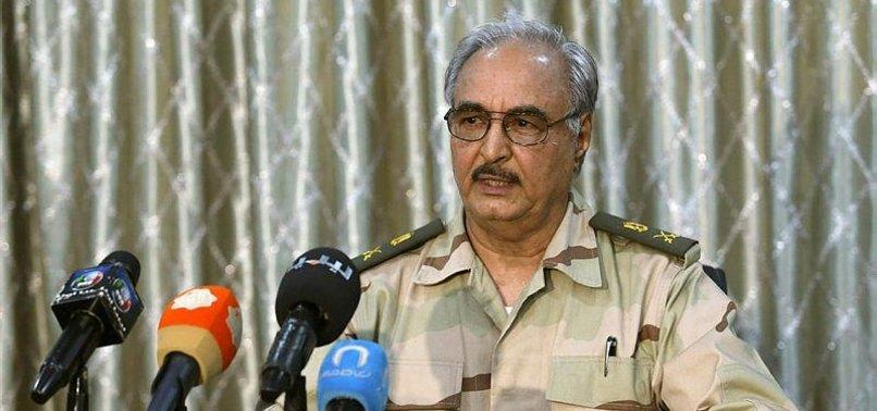 HAFTAR OBSTRUCTING DIALOGUE IN LIBYA: QATARI FM