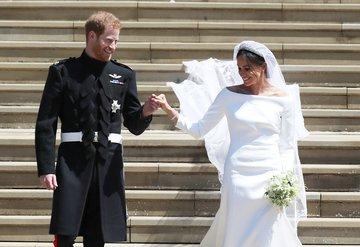Meghan Markle ve Prens Harrynin düğün sergisi