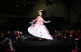 Chocolate couture graces Belgian catwalk