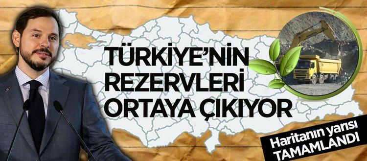 Türkiyenin maden rezervi ortaya çıkıyor