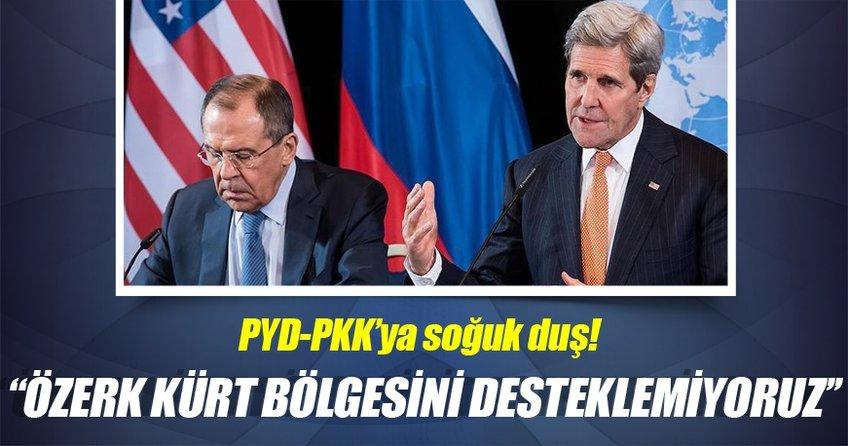 ''Özerk Kürt bölgesini desteklemiyoruz''