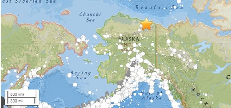 6.5-MAGNITUDE EARTHQUAKE STRIKES NORTHERN ALASKA
