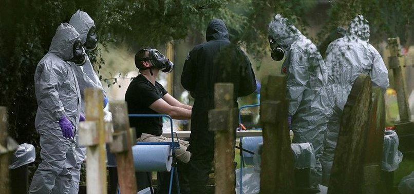 UK SAYS NERVE AGENT USED TO POISON EX-RUSSIAN SPY WAS IN LIQUID FORM