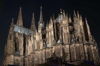 Tüm heybetiyle Gotik Mimari sanatı