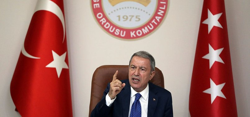 HULUSI AKAR SAYS SYRIA SAFE ZONE CENTRE WITH US FULLY OPERATIONAL
