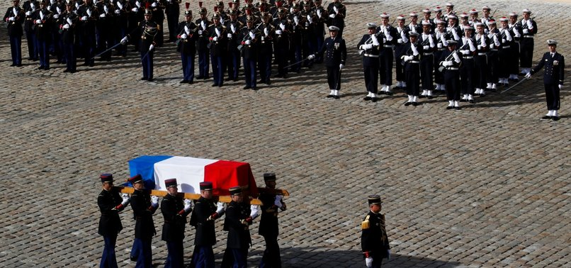 FRANCE BIDS FAREWELL TO EX-PRESIDENT JACQUES CHIRAC