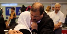 Palestinian mother and son reunited in Istanbul