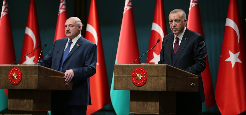 TURKEY, BELARUS HAVE THEIR EYES ON $1.5 BILLION TRADE VOLUME: ERDOĞAN