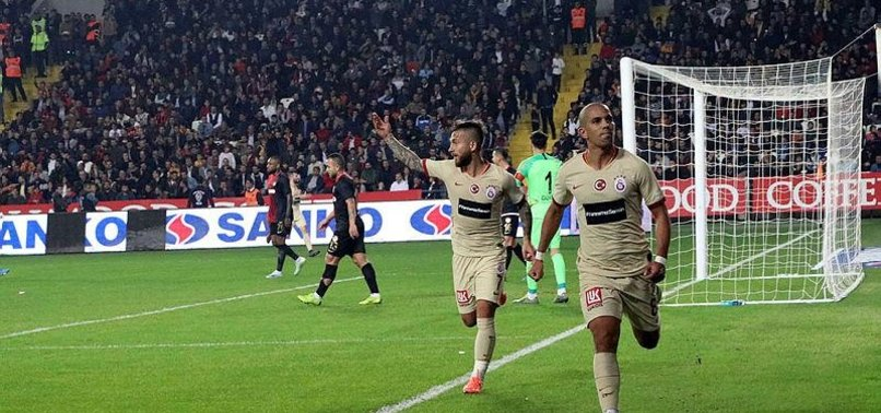 GALATASARAY CLAIM COMFORTABLE WIN OVER GAZIANTEP FC IN TURKISH SUPER LEAGUE CLASH