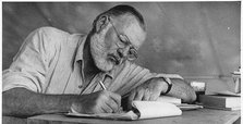 2 rarely seen Hemingway stories coming out