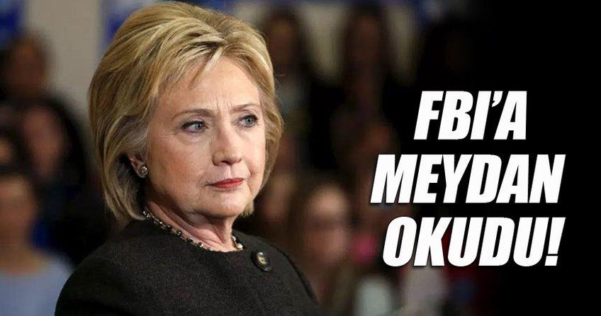 Clinton e-postalarla ilgili FBI'a meydan okudu