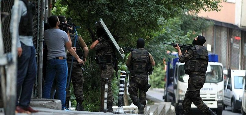 NEARLY 1,500 DAESH SUSPECTS HELD IN ISTANBUL IN 2017
