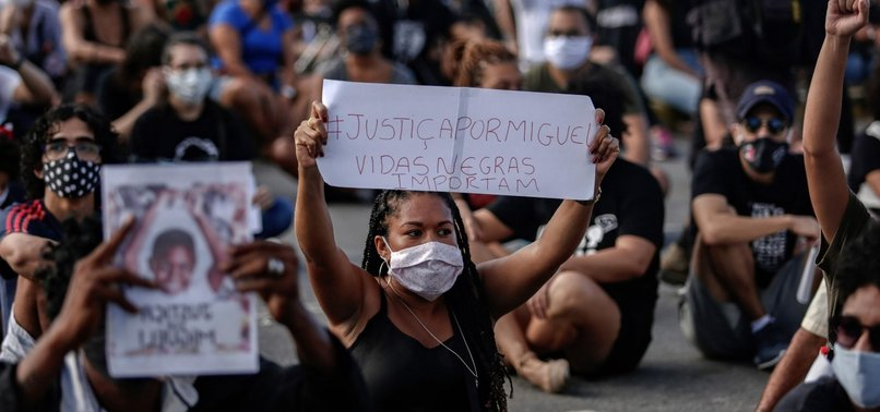 BLACK BOYS DEATH SPARKS RACISM PROTEST IN BRAZIL