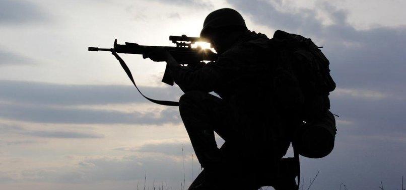 TURKEY 'NEUTRALIZES' 5 PKK/YPG TERRORISTS IN NORTHERN SYRIA