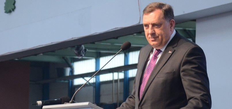 TOP BOSNIAN SERB LEADER CALLS SREBRENICA MASSACRE A MYTH