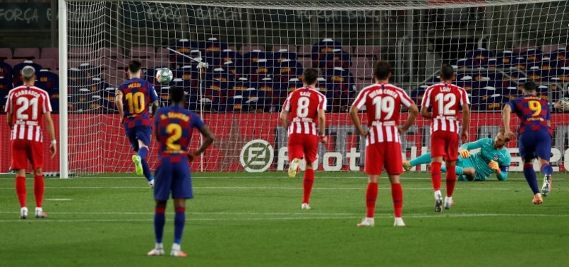 MESSI SCORES 700TH GOAL, BARCELONA HELD 2-2 BY ATLÉTICO