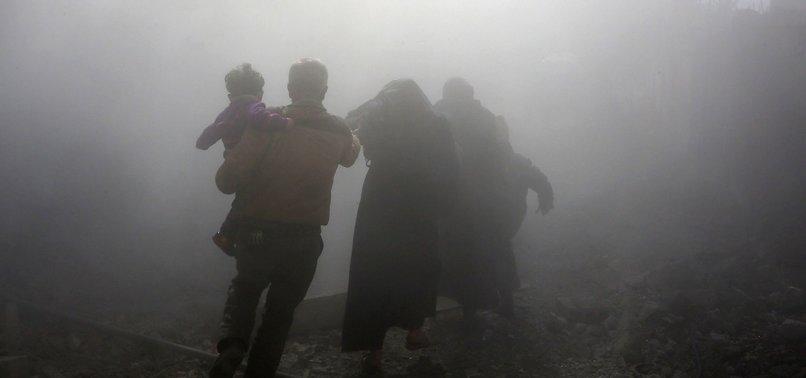 SYRIAN OPPOSITION-HELD EASTERN GHOUTA SUFFERS BLOODIEST WEEK SINCE 2015