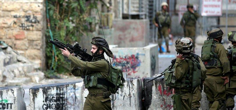 ISRAEL ARRESTS 12 PALESTINIANS IN WEST BANK RAIDS