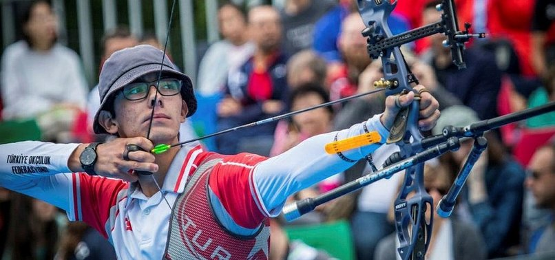 TURKISH ARCHER WINS GOLD MEDALS IN WORLD CUP