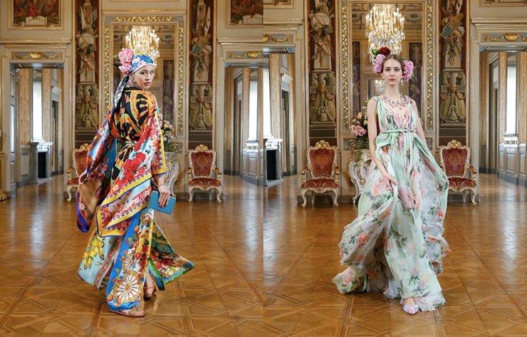 Dolce & Gabbana'nın Alta Moda 2020 koleksiyonu İtalya tatillerinden ilham alıyor.