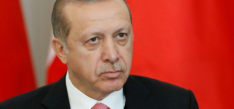 TURKISH SCHOLARS CANNOT SUPPORT TERROR GROUP, ERDOĞAN SAYS