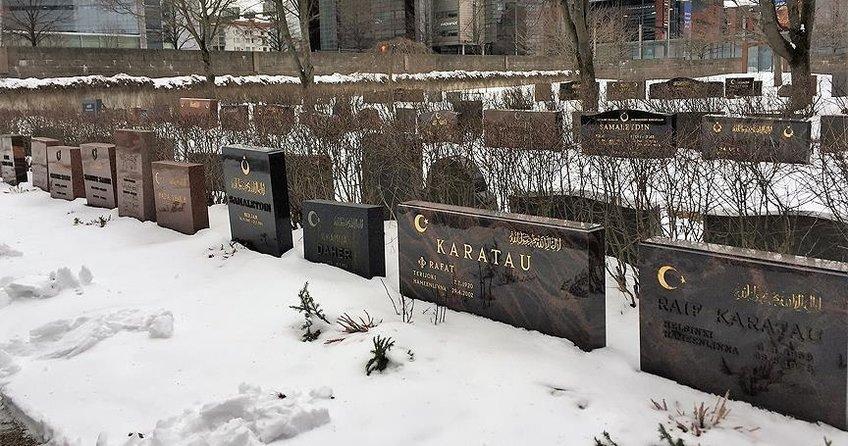 İskandinavya'nın ilk Müslüman mezarlığı 148 yaşında