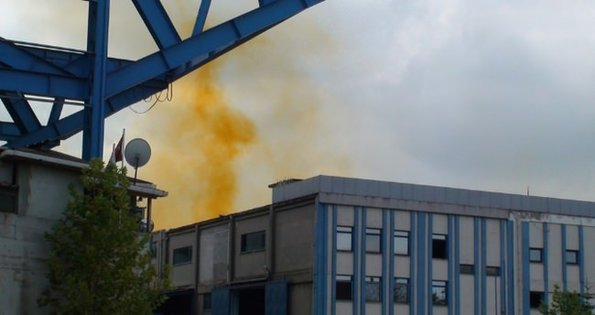 İstanbul'da 'kimyasal sızıntı' alarmı