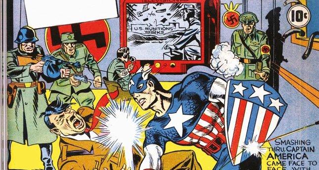 Süper kahramanların gizli yahudi kimlikleri