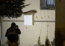 Ankara'da site içindeki bir binaya kalaşnikof silahlarla ateş açıldı