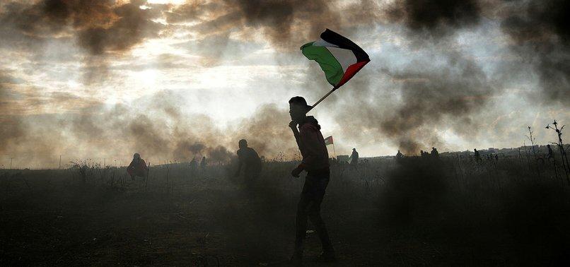 ISRAELI TANKS AND AIRCRAFT STRIKE PALESTINES GAZA STRIP