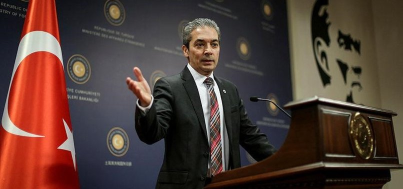 TURKEY'S FM SPOKESMAN CRITICIZES FRENCH REMARKS