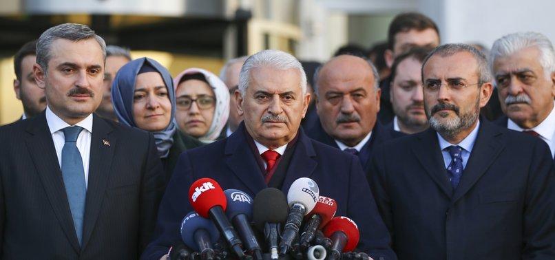 YILDIRIM: ELECTION BODY WILL DECIDE ON WINNER FOR ISTANBUL POLLS