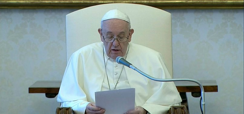 POPE SAYS RACISM INTOLERABLE, IN REACTION TO FLOYD KILLING
