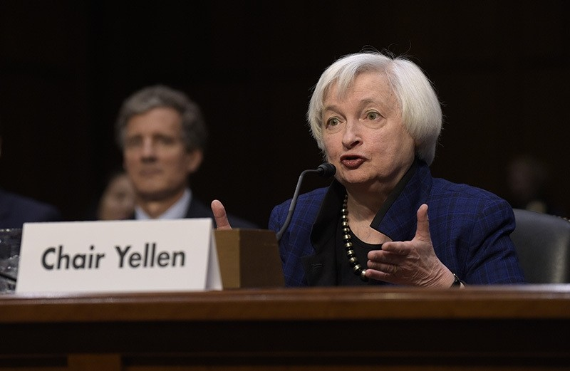 In this Thursday, Nov. 17, 2016, file photo, Federal Reserve Chair Janet Yellen testifies on Capitol Hill in Washington, before the Joint Economic Committee. (AP Photo)