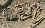 5700-year-old child skeleton unearthed in Turkish city of Malatya