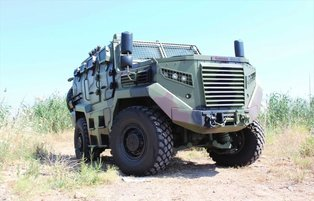 Turkey's locally-made armored vehicle 'Hızır' scores first exports