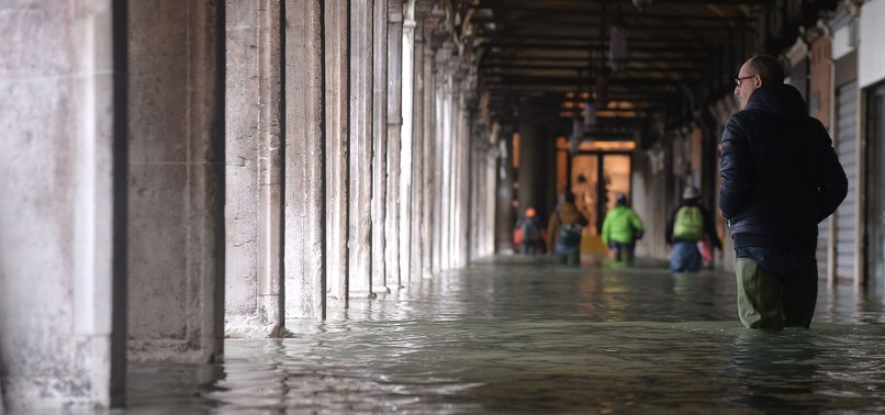 ITALY BATTERED BY RAIN AS DEVASTATED VENICE BRACED FOR THIRD MAJOR FLOOD