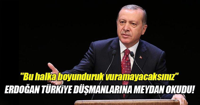 Cumhurbaşkanı Erdoğan Cerublus operasyonu sonrası ilk kez konuştu