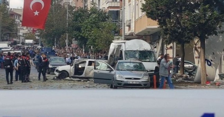 Yenibosna'da şiddetli patlama!
