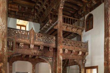 7 asırdır zamana direnen Çivisiz Camii