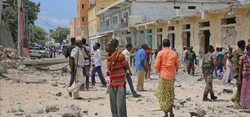 LAND MINE IN SOMALI CAPITAL KILLS AT LEAST 5